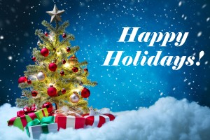 bigstock-Christmas-tree-with-decoration-happy-holidays